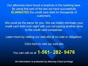 You Want To Abolish Card Dues and Balances? Consult Us Today!